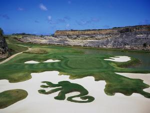 Sandy Lane Country Club Green Monkey, Hole 16 by J.D. Cuban