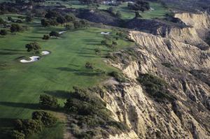 Torrey Pines Municpal Golf Course, Hole 4 by J.D. Cuban