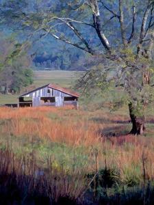 Hay Barn by J.D. Mcfarlan