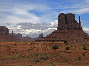 Monument Valley II by J.D. Mcfarlan