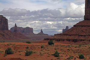 Monument Valley III by J.D. Mcfarlan