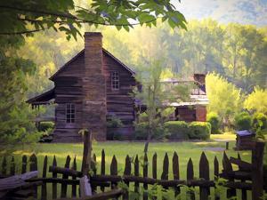 Oconaluftee Village by J.D. Mcfarlan
