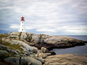Peggy's Cove, NS by J.D. Mcfarlan