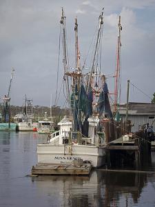 Shrimp Boats by J.D. Mcfarlan