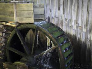 Water Wheel by J.D. Mcfarlan
