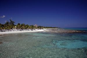 Yucatan Beach by J.D. Mcfarlan