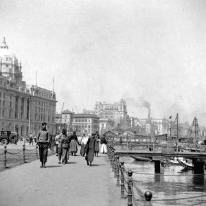 The Bund, Shanghai, China, Early 20th Century by J Dearden Holmes