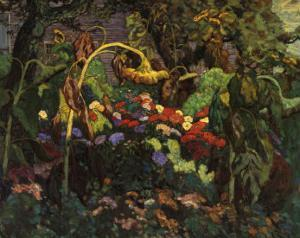 Tangled Garden by J^ E^ H^ MacDonald