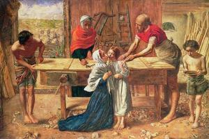 Christ in the House of His Parents, 1863 by J.E. Millais and Rebecca Solomon