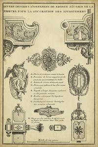Antique Decorative Locks II by J^F^ Blondel