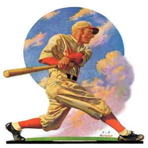 """Baseball Batter,""May 28, 1932 by J^F^ Kernan"