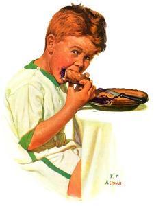 """""""Blueberry Pie,""""July 27, 1935 by J.F. Kernan"""