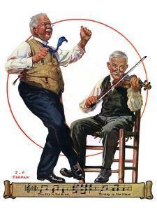 """""""Jig to a Fiddle,""""February 2, 1929 by J.F. Kernan"""