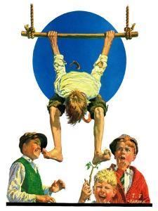 """""""Trapeze Tickle,""""August 31, 1929 by J.F. Kernan"""