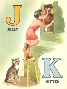 J for Jelly, K for Kitten
