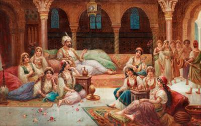 in a Harem by J. G. Delincourt