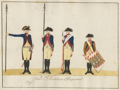 Field Artillery Regiment, C.1784