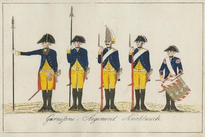 Garnisons Regiment Knoblauch, C.1784