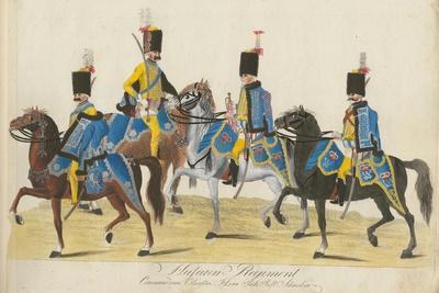 Regiment of Hussars, Hesse-Cassel, C.1784