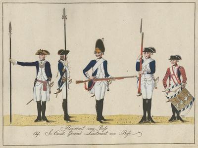 Regiment Von Bose, C.1784