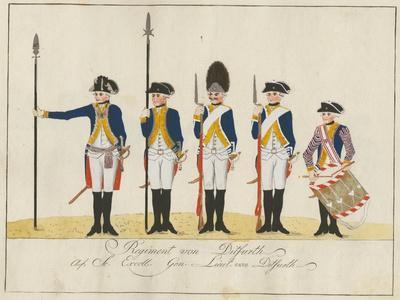 Regiment Von Ditfurth, C.1784