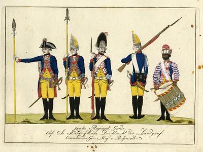 Second Guard Regiment, C.1784