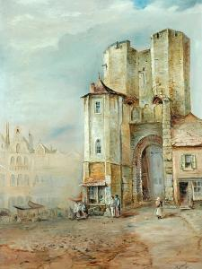 The Andenburg, Ghent by J. H. Townsend