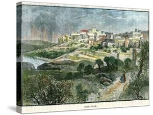 Bethlehem, Palestine, C1885 by J Harmsworth