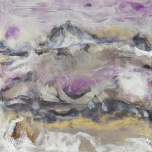 Lavender Billows I by J. Holland