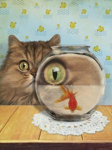 Cat Series #3 by J Hovenstine Studios
