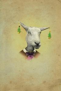Christmas Earings by J Hovenstine Studios