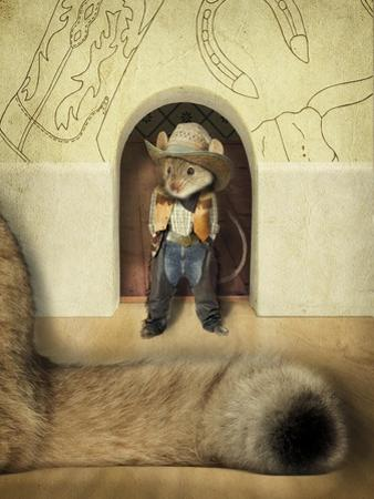 New Mouse In Town by J Hovenstine Studios
