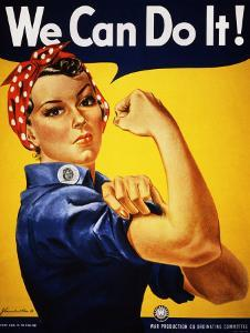 We Can Do It! (Rosie the Riveter) by J^ Howard Miller