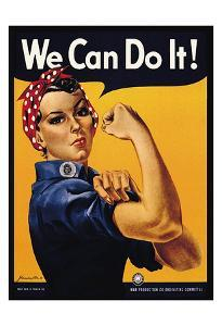 We Can Do It! by J^ Howard Miller