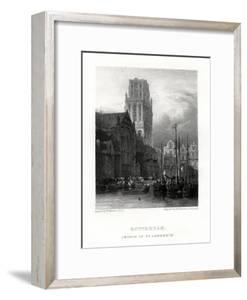 St Lawrence's Church, Rotterdam, Netherlands, 19th Century by J & J Johnstone