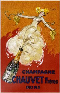 Poster for Chauvet Champagne by J. J. Stall