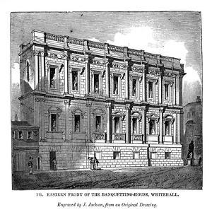 Eastern Front of the Banquetting House, Whitehall, 1843 by J Jackson