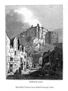 Edinburgh Castle, C1535-1570 by J Jackson
