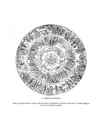 Shield of Achilles, 1843