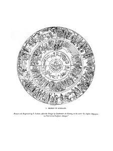 Shield of Achilles, 1843 by J Jackson