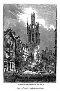 St Nicholas Church, Newcastle-Upon-Tyne, 1843 by J Jackson