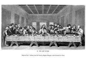 The Last Supper, 1843 by J Jackson