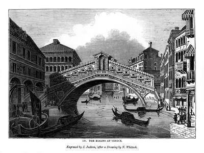 The Rialto at Venice, 1843