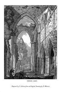 Tintern Abbey, 1843 by J Jackson