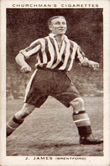 J.James, No.25 from the 'Association Footballers Second Series' of 'Churchman's Cigarettes' Cards--Giclee Print
