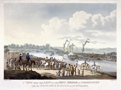 Bayswater, Paddington, London, 1801