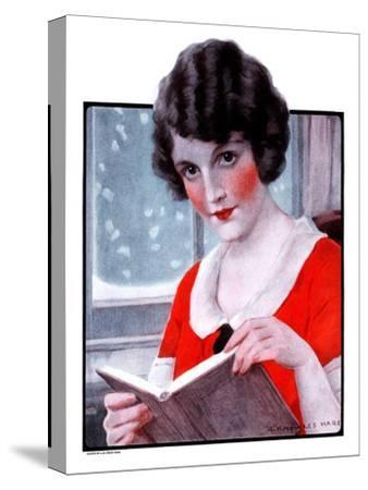 """""""Woman Reading Book,""""March 21, 1925"""