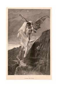 Devil and Lady, Ca 1894 by J Koppay