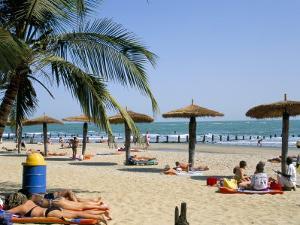 Bakau Beach, the Gambia, West Africa, Africa by J Lightfoot