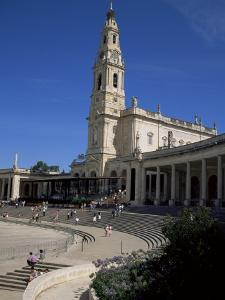 Basilica, Fatima, Portugal by J Lightfoot